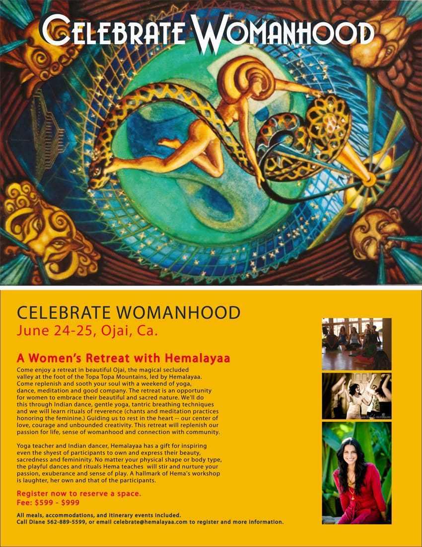 Celebrate Womanhood w/ Hemalayaa – Jun 24-25 in Ojai