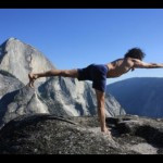 Karl Erb - Yoga Pose on a rock