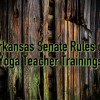 Arkansas Senate Rules on Yoga Teacher Trainings | Yoganomics