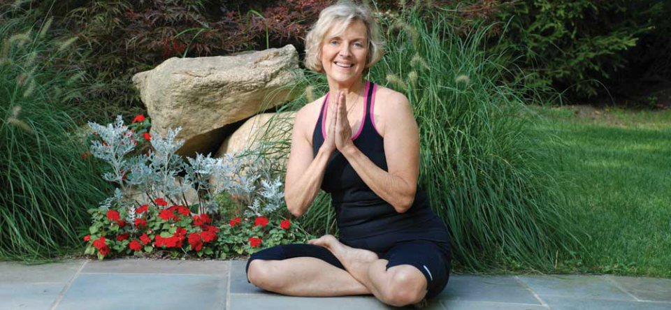 Beryl Bender Birch on the Newtown Yoga Festival